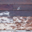 Frontal Wooden Deck — Stock Photo