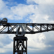 Vintage Harbour Crane — Stock Photo #22454819