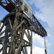 Stock Photo: Vintage Harbour Crane