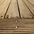 Stock Photo: Diminishing Wooden Deck
