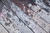 Diagonal Wooden Deck — Stock Photo