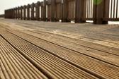 Deck Path — Stock Photo