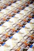 One Hundred Shekels Bills Background — Stock Photo