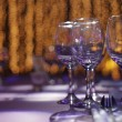 Banquet Setting — Stock Photo