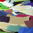 Colorful Torn Paper Background — Stock Photo #22471157