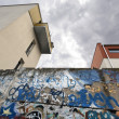 Berlin Wall Bernauer Strasse — Stock Photo