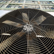 Urban HVAC Air Contidioner Outdoor Unit Manhattan New-York - Stock Photo