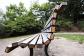 Bench at the Park — Stock Photo