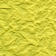 Bright Yellow Fiber Paper - Crumpled — Stock Photo #22534451