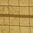 Towel Cloth Texture - Beige Single Stripe — Stock Photo #22535107