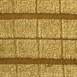 Towel Cloth Texture - Beige Double Striped — Stock Photo #22535115