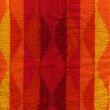 Towel Cloth Texture - Pink, Red, Orange & Yellow — Stock Photo