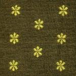 ������, ������: Cotton Fabric Texture Khaki with Yellow Patterns