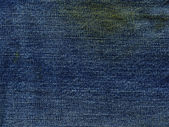 Denim Fabric Texture - Stained — Stock Photo