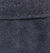 Fabric Texture - Dark Gray with Seam — Stock Photo