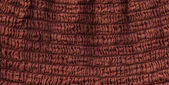 Cotton Fabric Texture - Squiggly Brown — Stock Photo