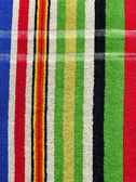Towel Cloth Texture - Colorful Stripes — Stock Photo