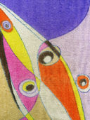 Textura de tecido de toalha - abstrato colorido — Foto Stock