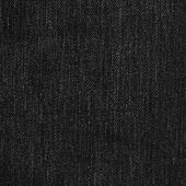 Denim Fabric Texture - Black — Stock Photo
