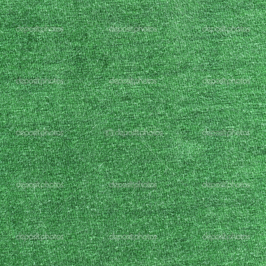 up of Green Cotton Fabric