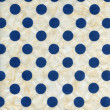 Rice Paper Texture - Blue Polka Dots — Stock Photo