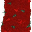 Isolated Rice Paper Texture - Christmas Red XXXXL — Stock Photo