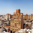 West Village and Midtown Manhattan Panorama New-York - Stock Photo