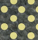 Rice Paper Texture - Green Polka Dots XXXXL — Stock Photo