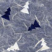 Rice Paper Texture - Christmas White & Blue XXXXL — Stockfoto