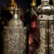 Torah Scrolls Containers — Stock Photo #23024484