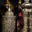 Torah Scrolls Containers - Stock Photo