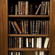 Holy Jewish Library - Stock Photo