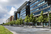Linkstrasse, Potsdamer Platz, Berlin — Stock Photo