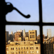 Manhattan Window View — Stock Photo #23030424