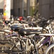 Постер, плакат: Parked Bicycles
