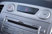 Car Stereo & Seatbelt Alert — Foto de Stock