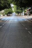 Empty Tel-Aviv Street — Stock Photo