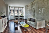 Berlin Apartment Living Room — Stock Photo