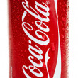 Isolated Chilled Coca Cola — Stock Photo