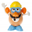 Mr. Potato Head - Construction Worker Looking Up — Stock Photo