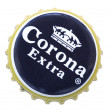 Stock Photo: CoronBeer Metal Cap