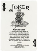 Playing Card - Joker — Stock Photo