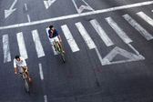 Urban Bicycle Riders — Stock Photo