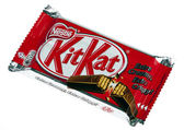 Isolated Kit Kat — Stock Photo