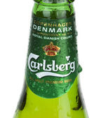 Carlsberg Bottle Neck — Foto Stock