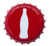 Coca Cola Metal Cap — Stock Photo