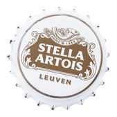 Stella Artois Metal Cap — Stock Photo