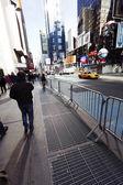 Times Square Tilt — Stock Photo