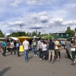 Sunday at Mauerpark Flea Market Berlin Germany — Stock Photo