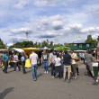 Sunday at Mauerpark Flea Market Berlin Germany - 